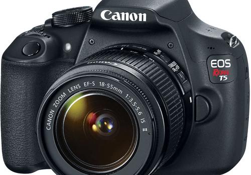Canon EOS Rebel T5 – DiSCO – Digital Scholarship Center
