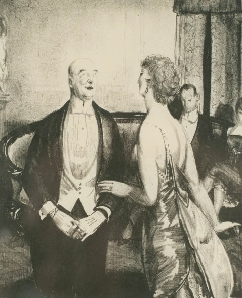 George Wesley Bellows (United States, 1882-1925)The Parlor Critic, 1921lithographGift of Glen H. '55 and Shirley Beito '56 Gronlund2019.7.4