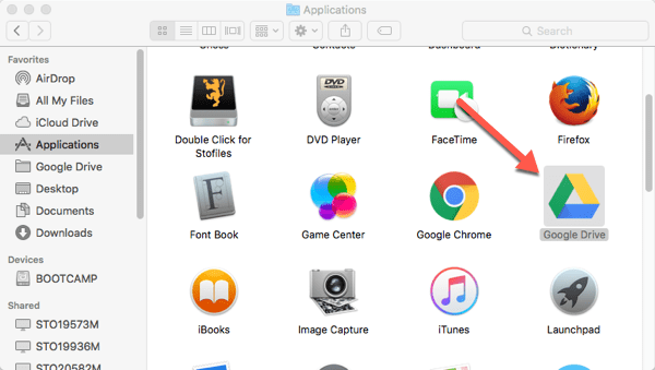 Install Google Drive on Mac Desktop – Information Technology
