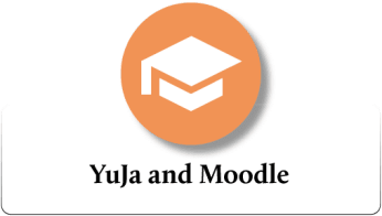 YuJa and Moodle icon.