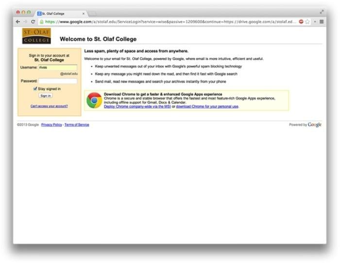 Google Drive – Information Technology