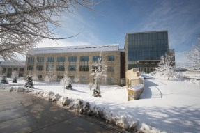 Regents Hall in the Winter