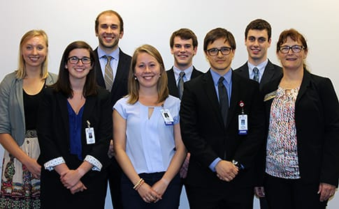 St. Olaf participants in Rockswold Health Scholars Program.