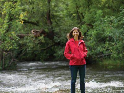Anne Christianson, photographed at Minnehaha Park, Minneapolis.