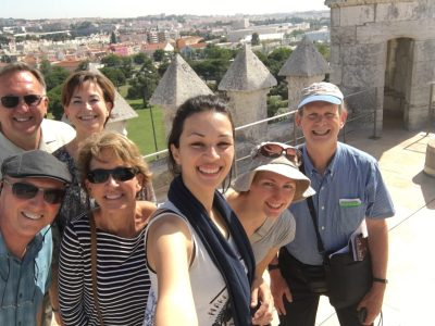"Travelers on the ""Portugal: Exploring Hilltop Cities by the Sea"" program."