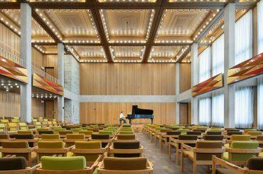 Urness Recital Hall, St. Olaf College | Northfield, MN | Edward Sövik