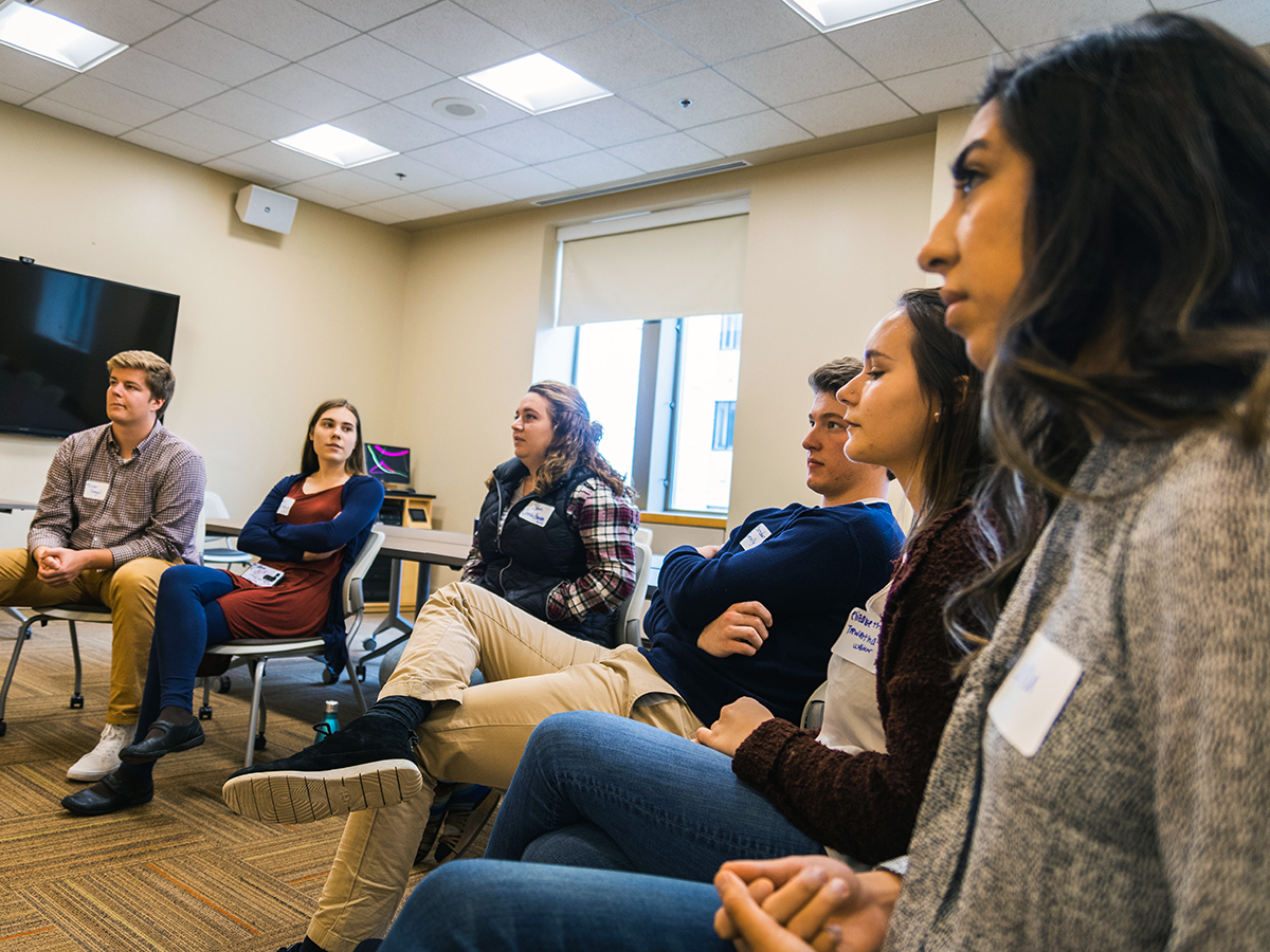 Oles seek to understand each other through Red/Blue Workshop