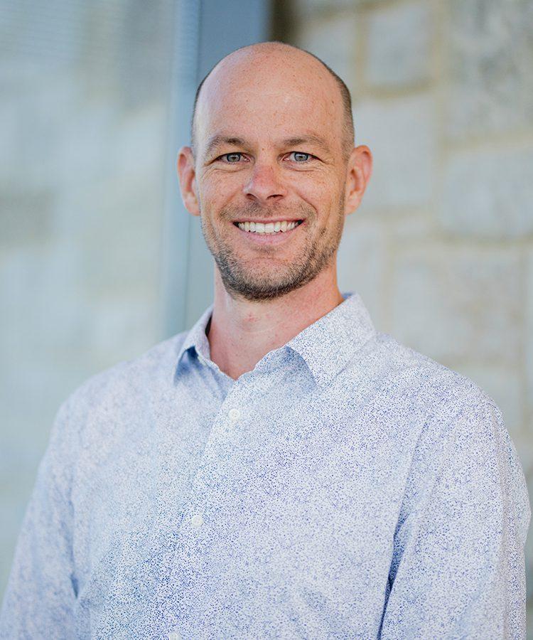 Portrait of Piper Center Associate Director Nate Jacobi