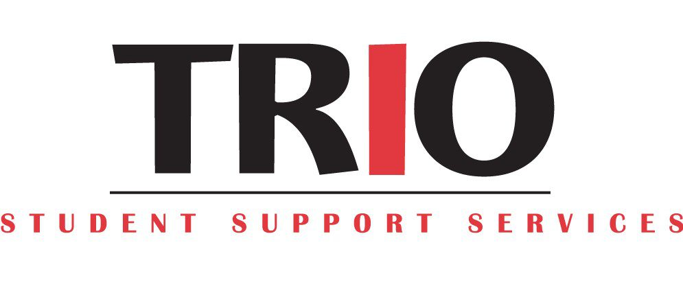 TRIO Student Support Services logo with white background.