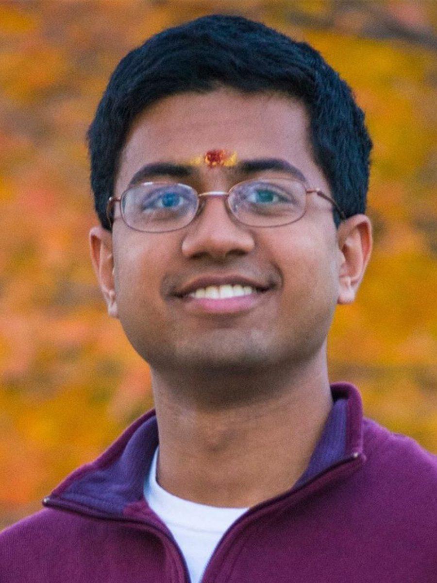 Portrait of Neetij Krishnan '20