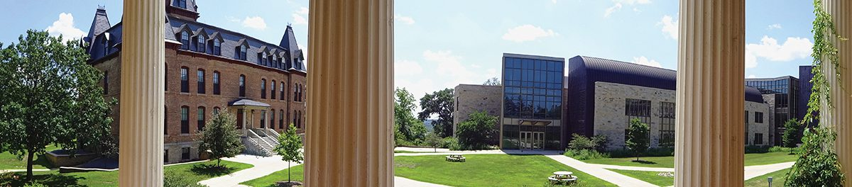 View from Steensland Hall