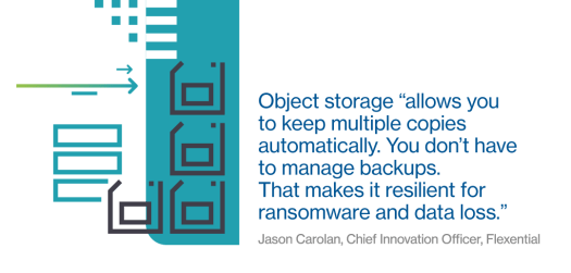Object storage for digital-age challenges 2