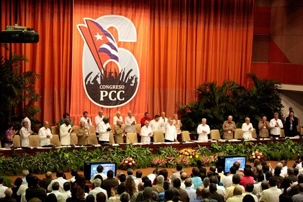 Izquierda salvadoreña saluda congreso del Partido Comunista de Cuba