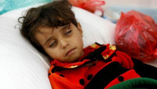 Cholera has already claimed the lives of 1,300 people, a quarter of which were children.