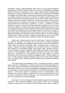 CARTA DO FORPIBID II