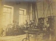 Fábrica de Biscoitos Leal Santos- oficina Mecánica -Aprox. 1912 -1920.