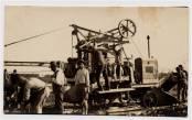 Máquina Trabalhando na Avenida Osvaldo Aranha , 2º quartel do século XX. Década de 1920.