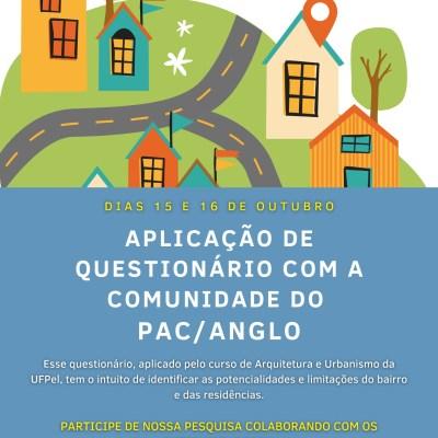 Aplicação do DRUP no Loteamento PAC/Anglo em Pelotas/RS