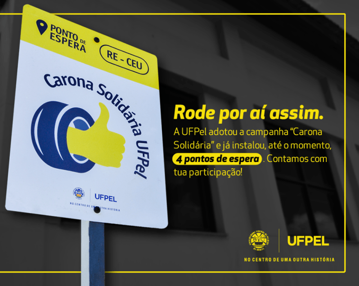 Carona Solidária UFPel