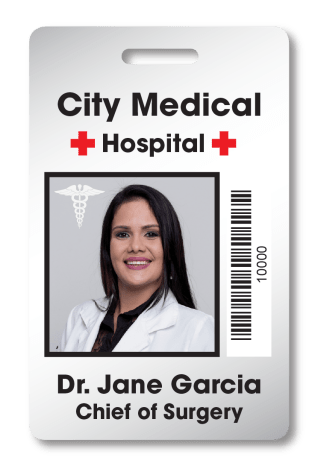 healthcare employee ID