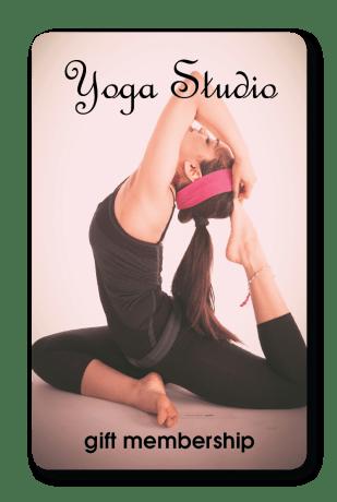 yoga fitness gift card