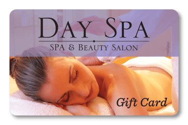 gift card for spa and salon