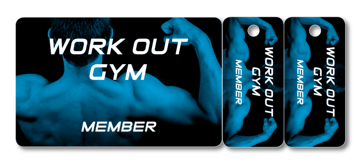 fitness gym combo card