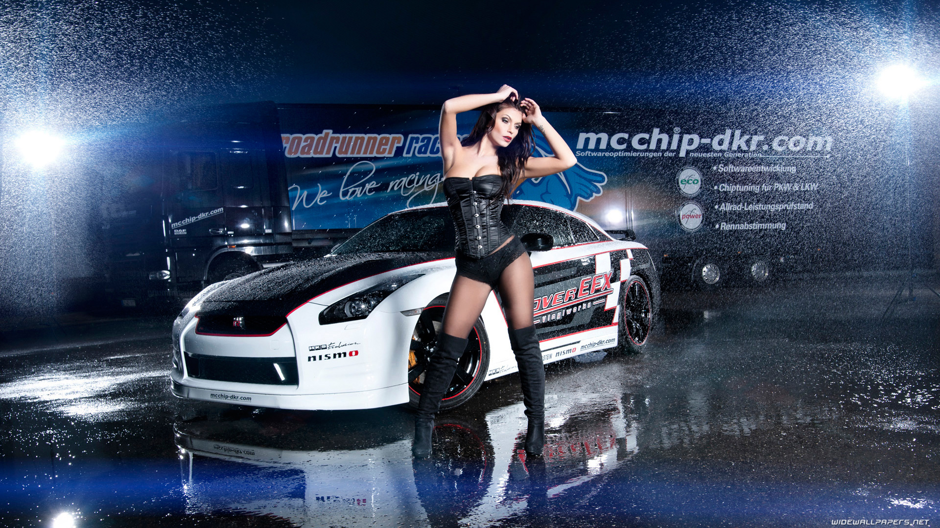 Nissan And Girls Desktop Wallpapers HD And Wide Wallpapers