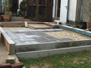Schritt 2: Der Bodenaufbau, © Dagmar Offermann