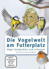 Cover der DVD 'Die Vogelwelt am Futterplatz'