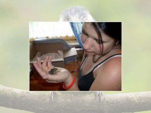 Das Nesthäkchen bekommt eine Extraportion Wärme, © Monika Sattler