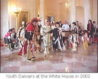Youth Dancers at the White House in 2002