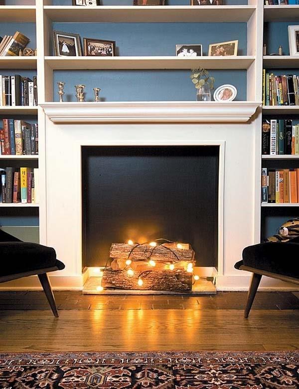 LED-Lit-Logs