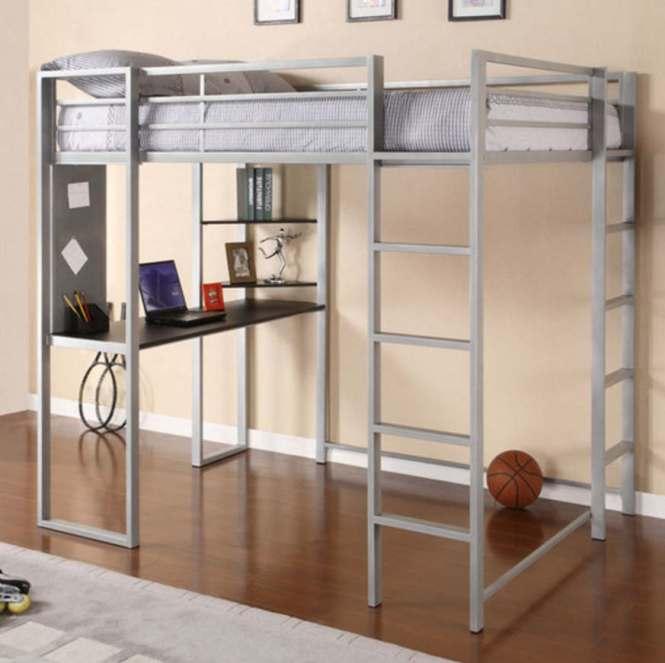 Adobe Full Loft Bed