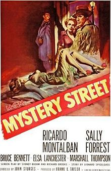Mystery Street dvd