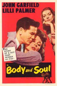 Written by Abraham Polonsky Directed Robert Rossen U.S.A. 1947