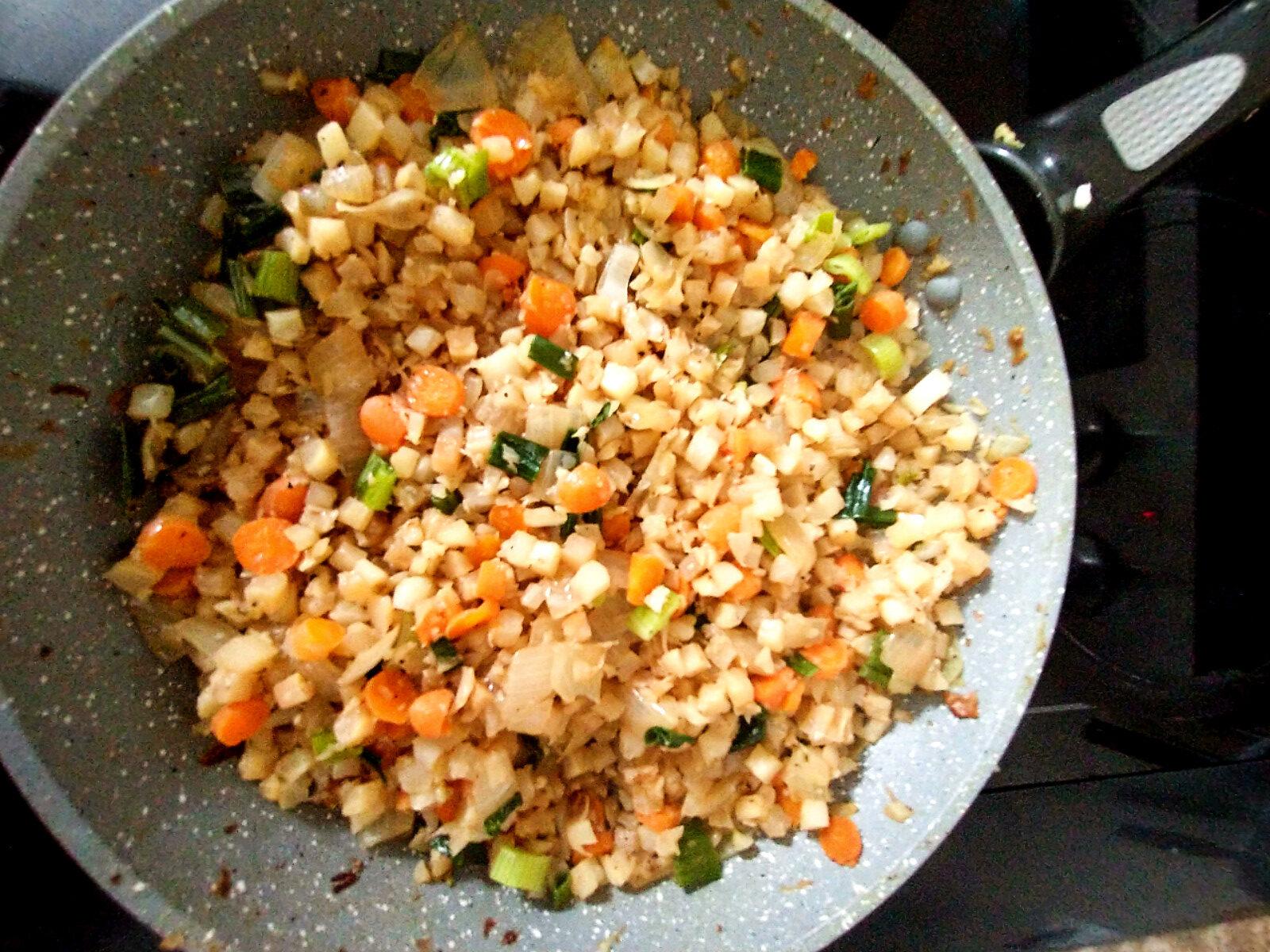 Fried Riced Cauliflower - EggFree | Limitless Allergies