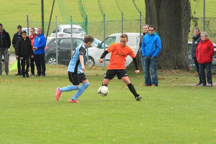 Unentschieden im Derby der C-Junioren