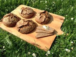 Fotos zeigen das Fluthilfe-Brot