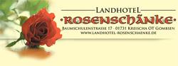 Rosige Zeiten unter freiem Himmel - Kreischaer Rosenschänke serviert ab sofort ihre Spezialitäten auch im hauseigenen Rosengarten