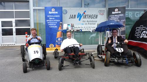Seifenkistenrennen erobern Große Kreisstadt Freital - 17. Internationale Sachsenmeisterschaft vom 13. bis 15. September 2013