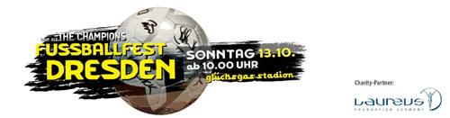 """Jürgen Drews singt beim Laureus Benefiz Fußballspiel - """"Onkel Jürgen"""" rockt am 13. Oktober das Dresdner """"glücksgas stadion"""""""
