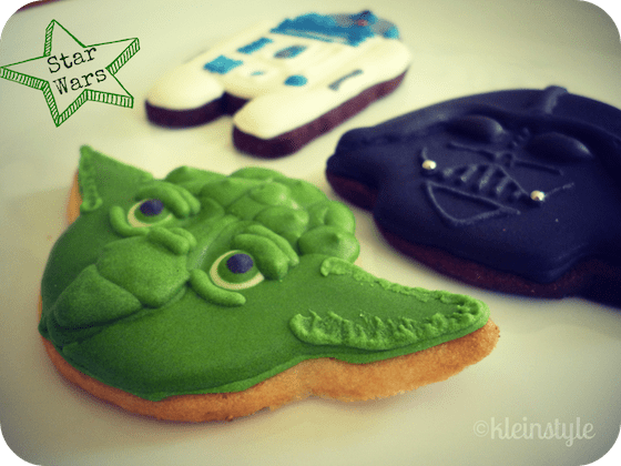 kleinstyle's star wars cookies