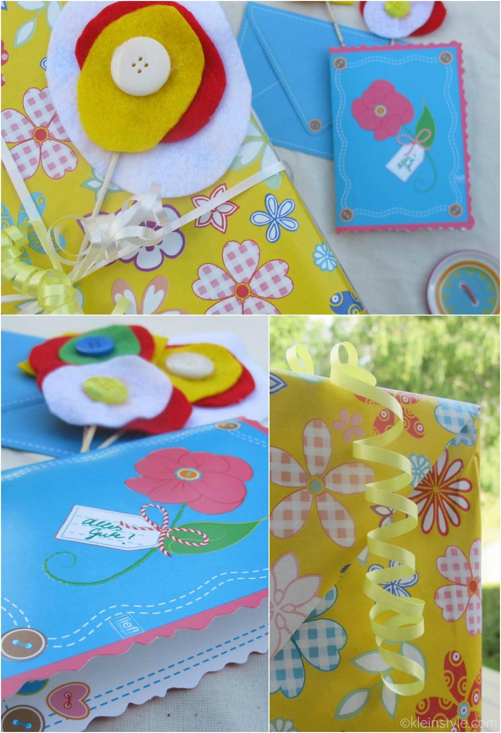 lief party geschenk karte ©kleinstyle.com