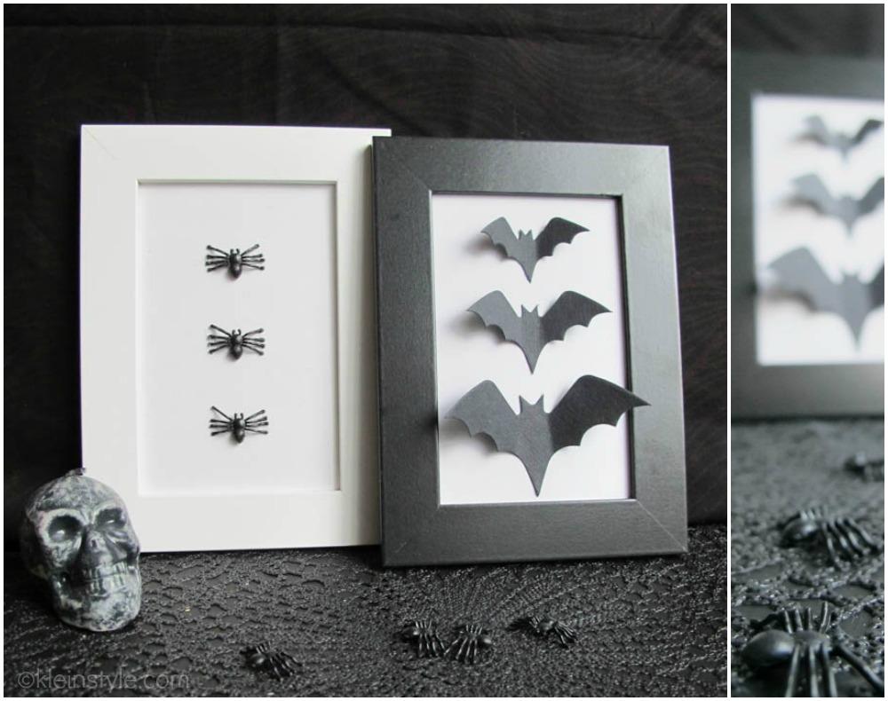 easy quick halloween diy bilder  01 Collage by kleinstyle.com