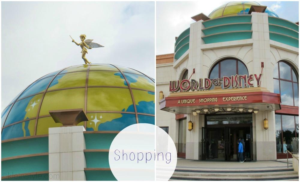 Disneyland Paris Disney Village World of Disney Shopping pic ©kleinstyle.com