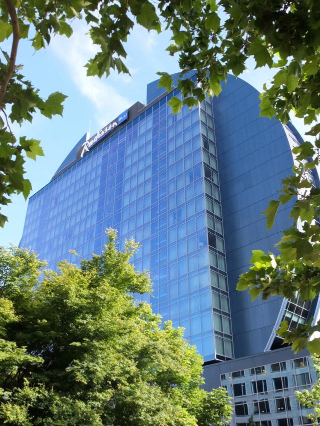 Radisson Blu Frankfurt Hotelansicht