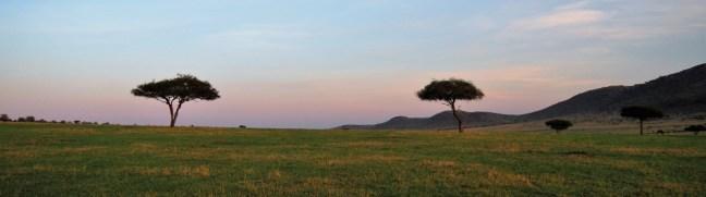 Masaai Mara at dusk