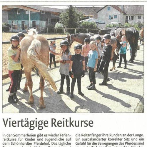 04 - Remszeitung vom 15. August 2017_Ferienkurs