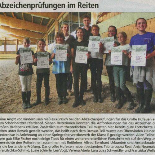 Gmuender Anzeiger 25.11.2009_2